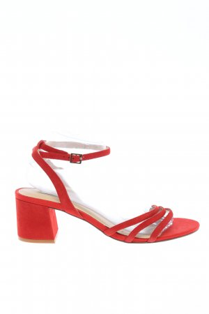 Kiomi Riemchen-Sandaletten rot Casual-Look