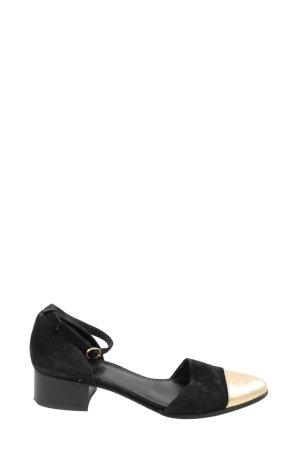 Kiomi Riemchen-Sandaletten schwarz-creme Casual-Look