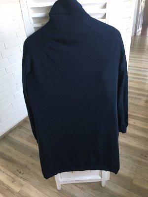 Kiomi Rollkragenkleid dunkelblau Gr 40