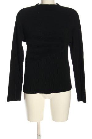 Kiomi Sweter z okrągłym dekoltem czarny W stylu casual