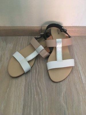 Kiomi Sandalo con cinturino multicolore Pelle