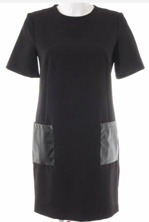 Kiomi schwarzes Kleid mit Taschen
