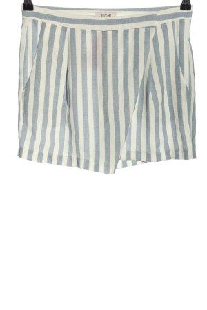 Kiomi Shorts blau-weiß Streifenmuster Casual-Look