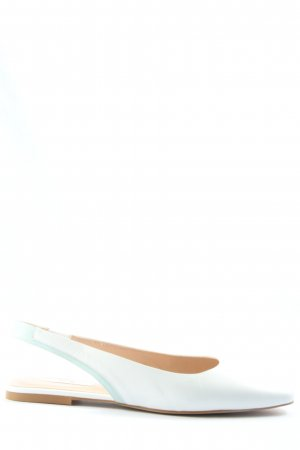 Kiomi Slingback Ballerinas weiß Business-Look