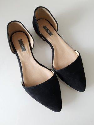 Kiomi Babouche noir cuir