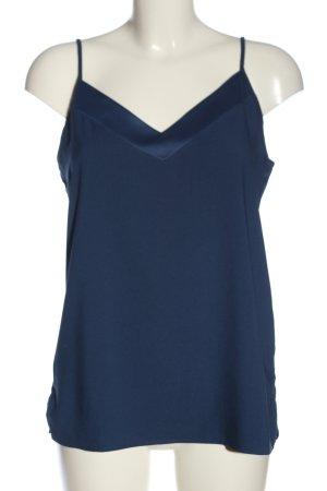 Kiomi Top con bretelline blu stile casual