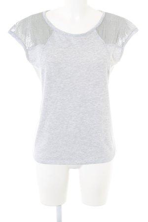 Kiomi T-Shirt hellgrau meliert Casual-Look
