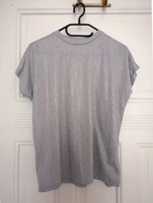 Kiomi Basic Top silver-colored-grey polyester