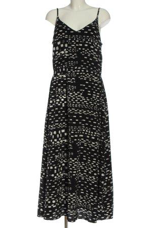 Kiomi Trägerkleid schwarz-weiß Casual-Look