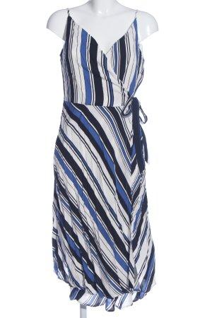 Kiomi Trägerkleid Streifenmuster Elegant