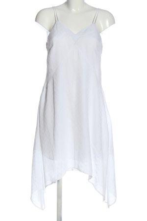 Kiomi Pinafore dress white elegant