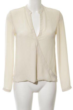 Kiomi Transparenz-Bluse creme Business-Look