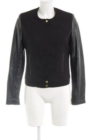 Kiomi Between-Seasons Jacket black casual look