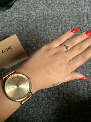 Kiomi Reloj analógico color oro