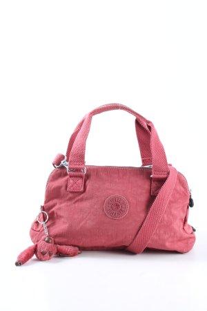 Kipling Henkeltasche pink Motivdruck Casual-Look