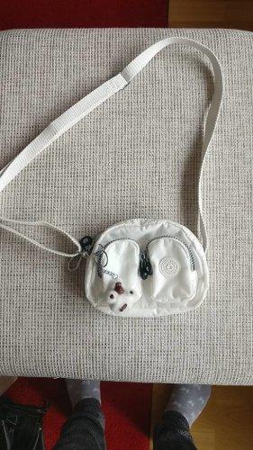 Kipling Kleine Tasche Kalipe weiß