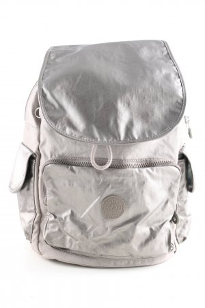 Kipling Notebookrucksack hellgrau Casual-Look