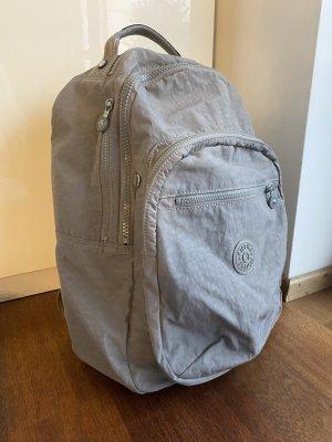 Kipling Sac à dos pour ordinateur portable gris clair-gris