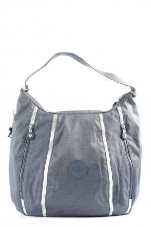 Kipling Shoulder Bag light grey-white themed print casual look
