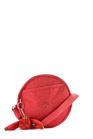 Kipling Schultertasche rot Motivdruck Casual-Look