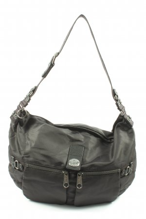 Kipling Stofftasche schwarz Motivdruck Casual-Look