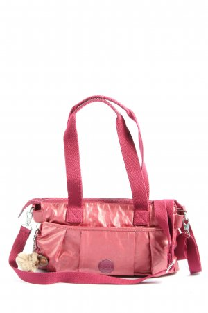 Kipling Stoffen tas roze casual uitstraling