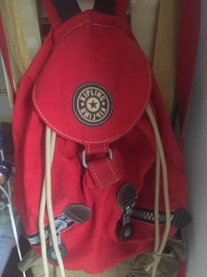 Kipling Backpack Trolley red