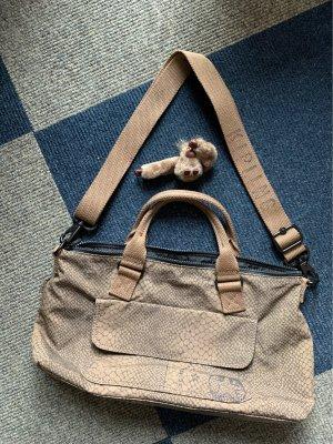Kipling Handbag grey brown