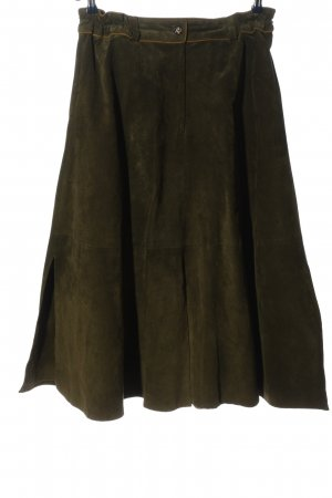 Kippie Traditional Skirt bronze-colored-khaki flecked casual look
