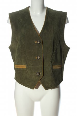 Kippie Traditional Vest khaki-light orange casual look