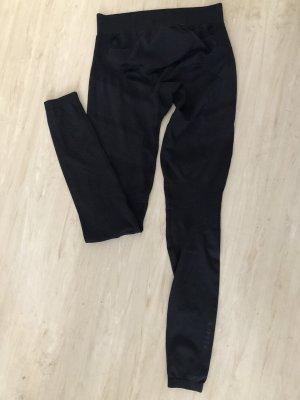 Decathlon Spodnie termiczne czarny-ciemnoszary
