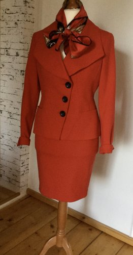 MADELINE Ladies' Suit red