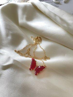 Złoty łańcuch złoto-czerwony