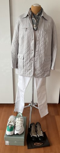 Kirsten Modedesign Long Jacket light grey polyester