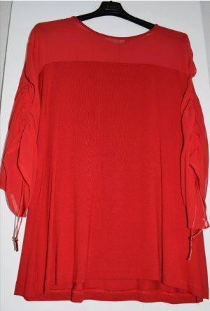 KITANA by Rinascimento Damen T-Shirt   Bluse mit Mesheisatz   Gr.44/46/48  (D)