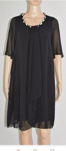 KITANA by Rinascimento Italy Damen Dress Coctail Chiffon Kleid Perle Gr.40( D)