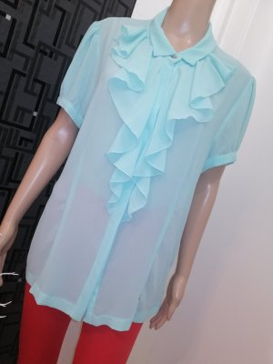 KITANA ITALY Damen Chiffon Bluse mint Gr. 40 (D)