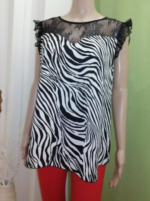 KITANA ITALY Damen Tunika Bluse gemustert Gr.38 40(D)
