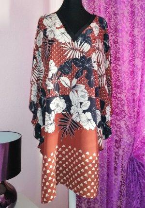 KITANA ITALY Damen Tunika Kleid gemustert Gr. 42 44