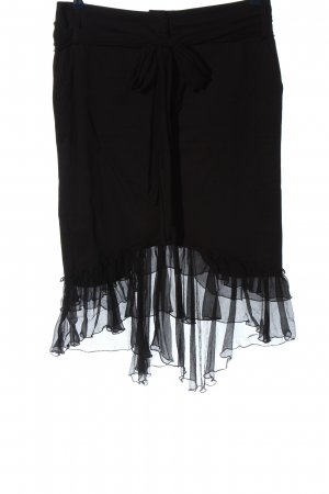 Kitana Broomstick Skirt black casual look