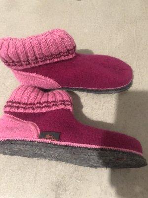 BECK Pantoufles-chaussette multicolore