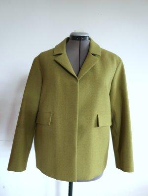 kiwigrünes kastiges Jackett von COS aus Wolle in Gr. 36/38