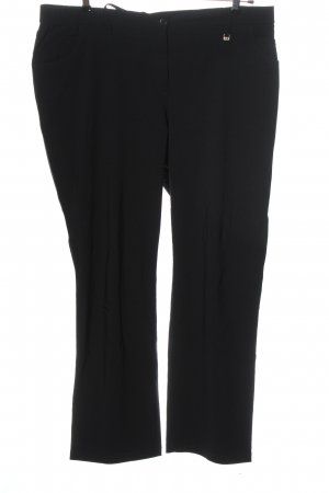 Kj Brand Stretch Trousers black business style