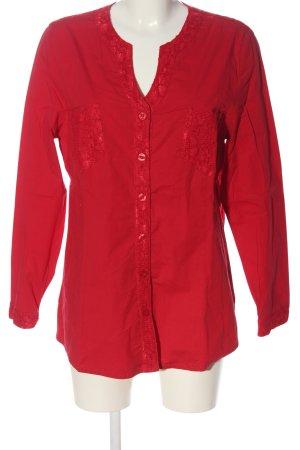 KJBrand Blouse-chemisier rouge style d'affaires