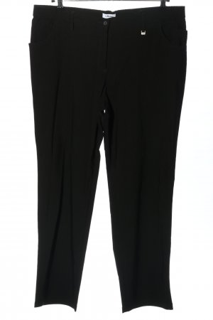 KJBrand Stretch Trousers black casual look