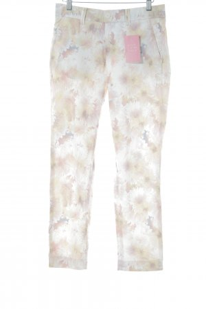 Kjus Chinohose florales Muster Casual-Look