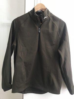 Kjus Outdoor jack zwart bruin