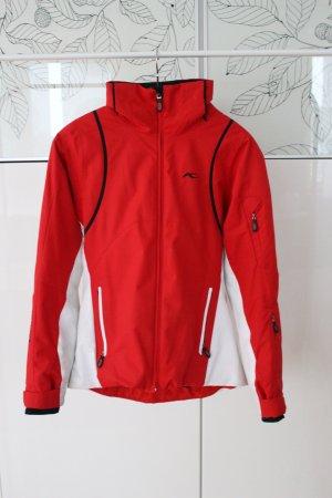 Kjus Skijacke in rot & weiß