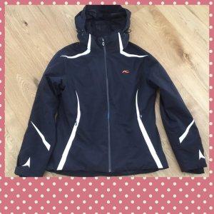 Kjus Winter Jacket white-black mixture fibre