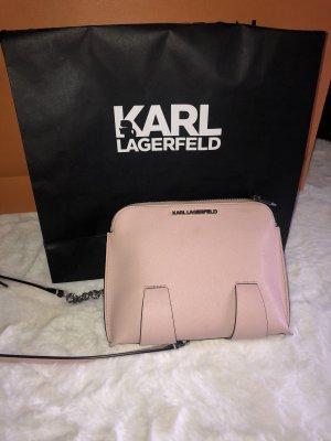 Karl Lagerfeld Borsa clutch color oro rosa